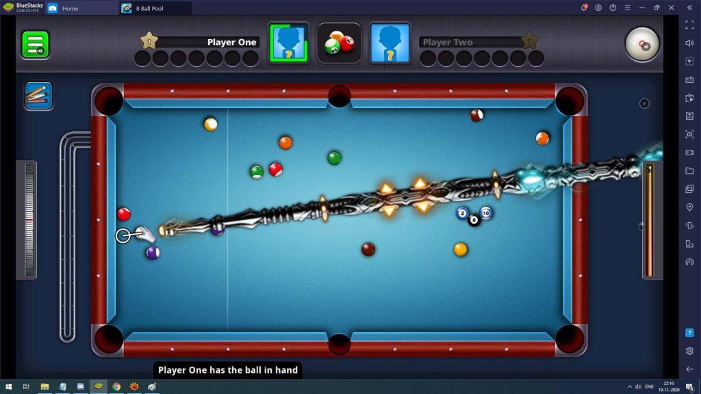 8 Ball Pool Knight Billiard Cue