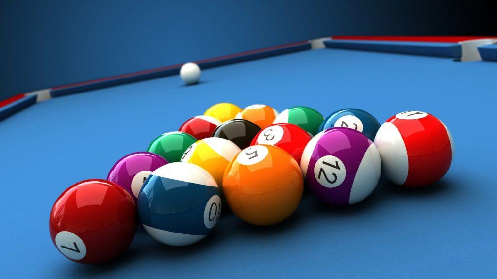 Artificial strung of Billard Balls - 8 Ball Pool