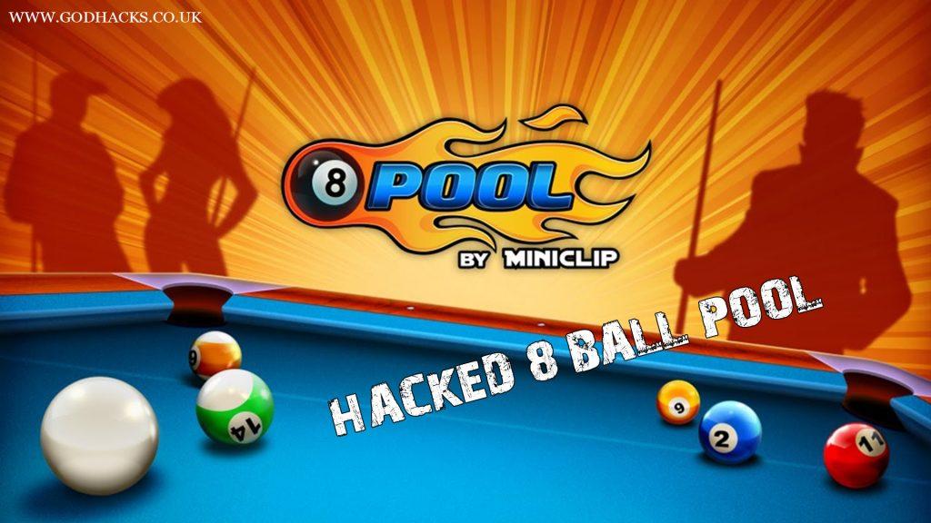 8 Ball Pool Logo and Environment of Billiard