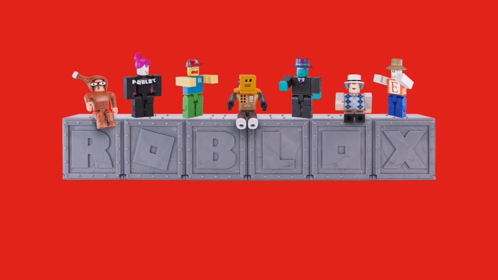 Roblox Characters sit and stand on Roblox Box