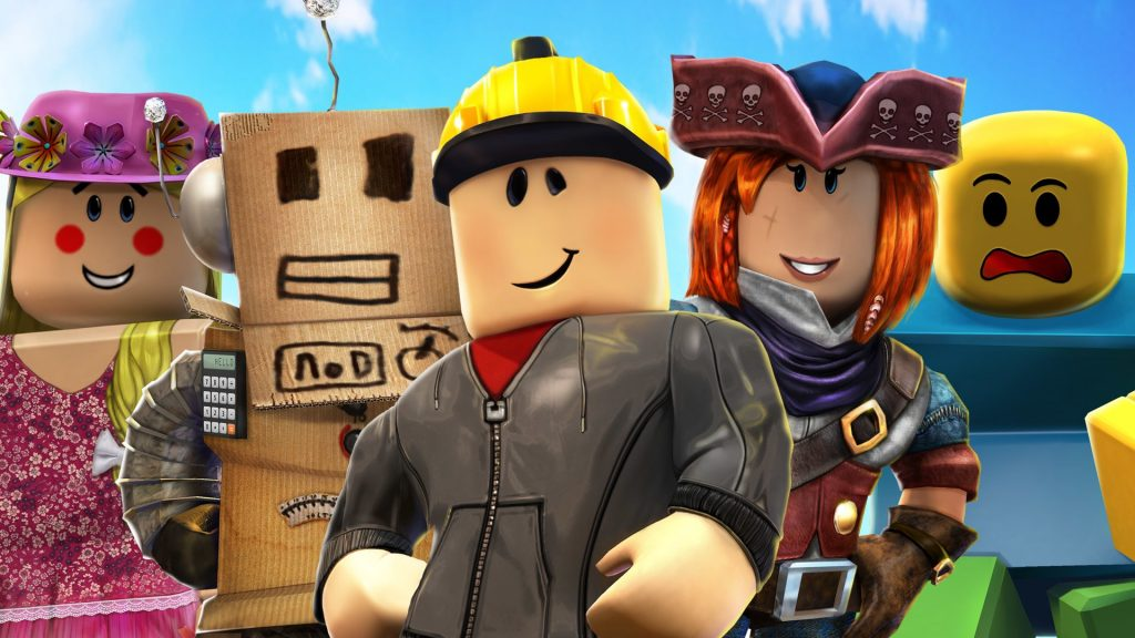 Roblox Characters Postures to the Camera