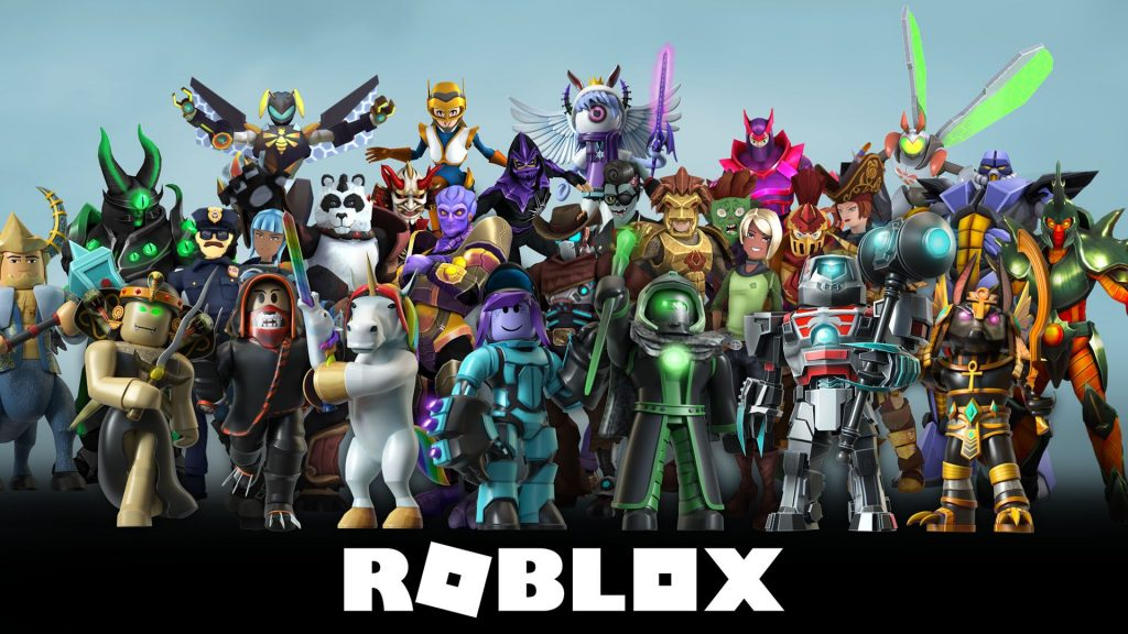 Roblox Chararcters HQ with Logo