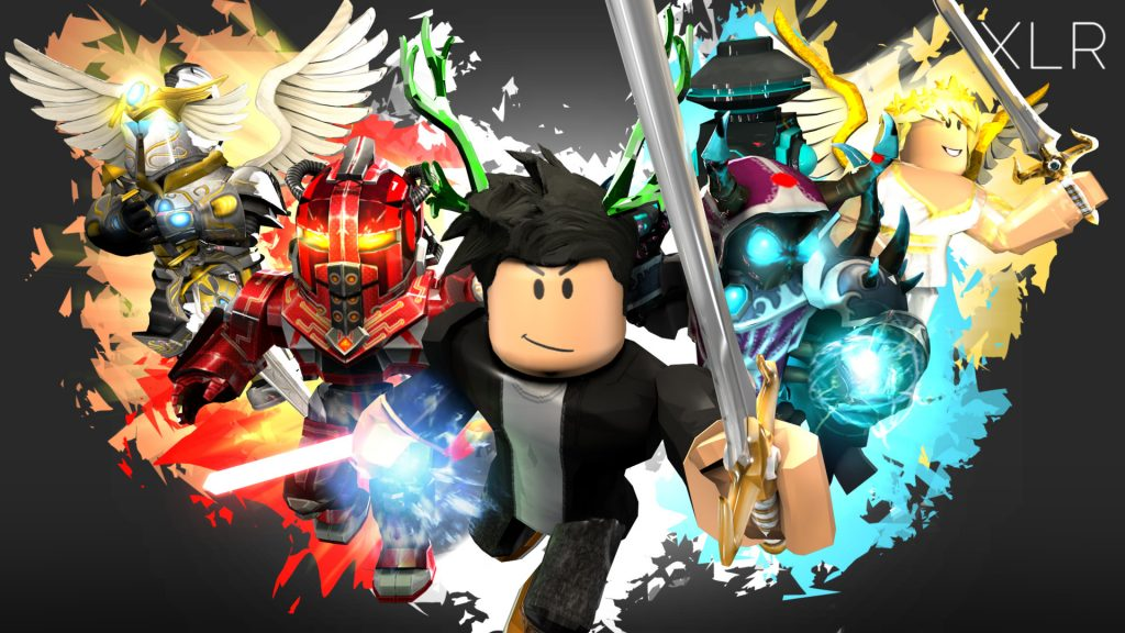 Roblox Characters with Sword