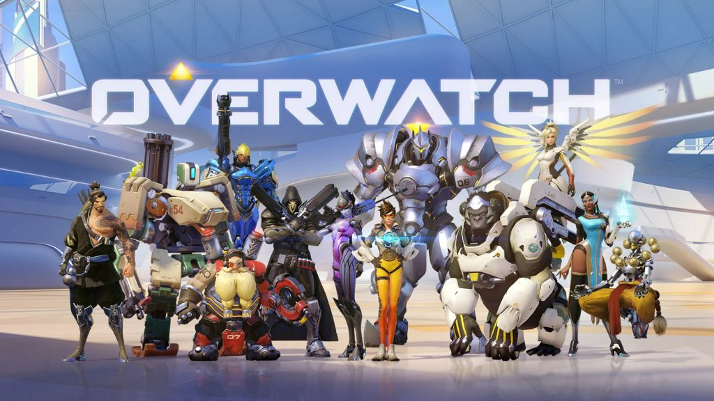 OverWatch Characters on the ground and postures!