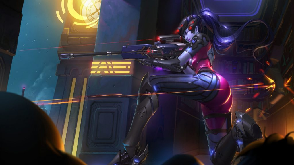 OverWatch Character aims