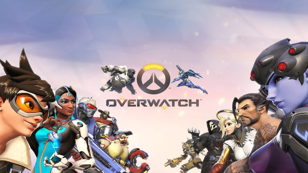 OverWatch Characters left and right side