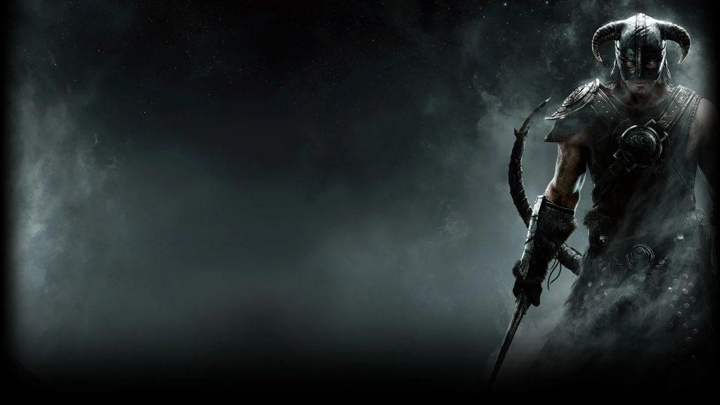 Skyrim Main Character keeps sword in his hand
