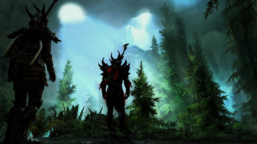 Skyrim Forest