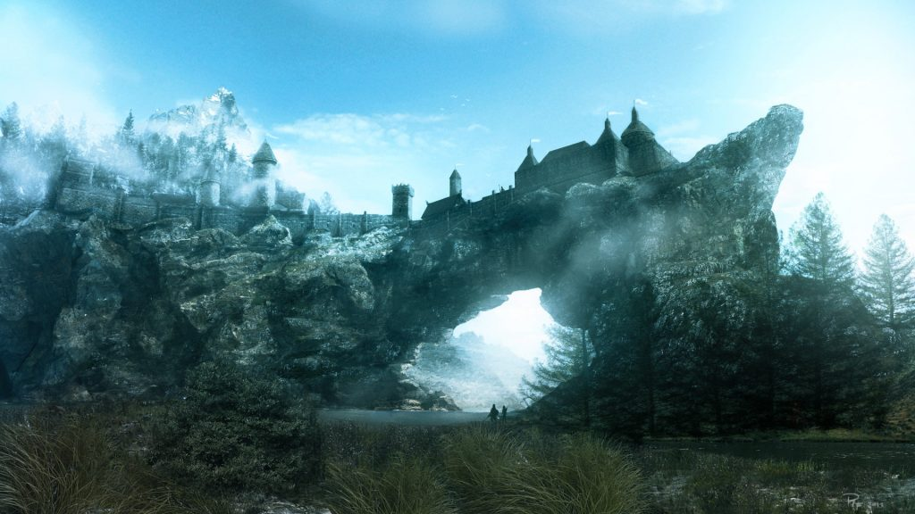 Skyrim Castle on the Stones